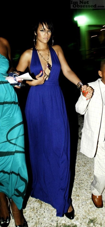 Rihanna en la boda de ... Rihanna