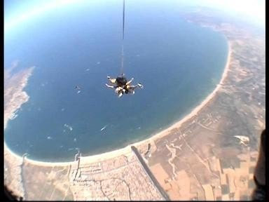 Skydiving en Empuria Brava