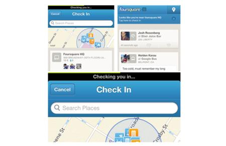 Foursquare pone todavía más fácil hacer check-in