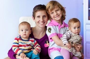 La foto de tu bebé: Los tres hijos de Eva