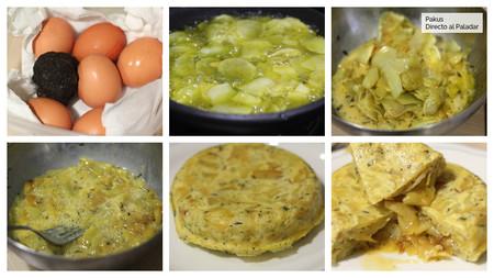 Tortilla De Trufa Pasos