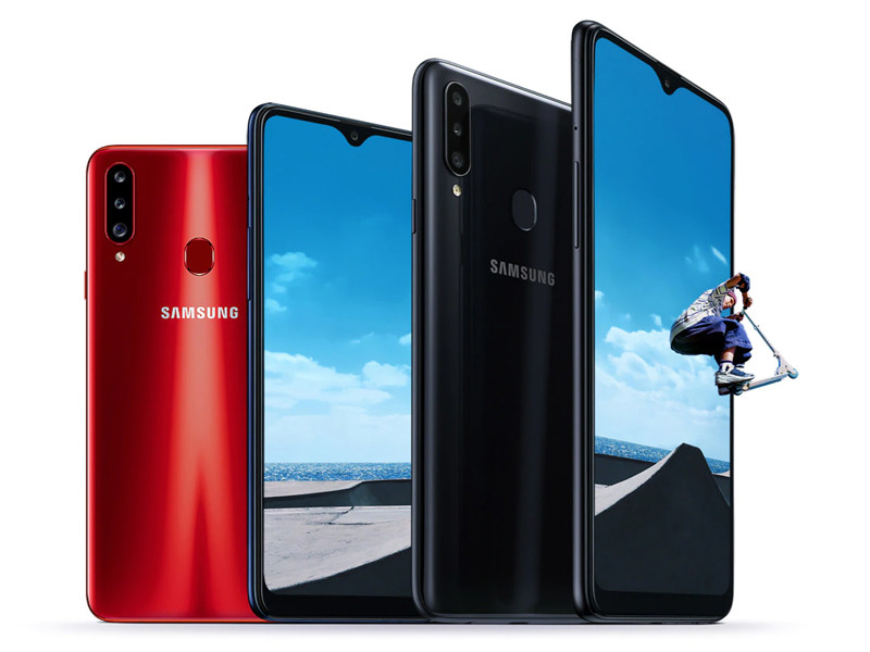 Samsung Galaxy A20s: the range more basic Samsung adds to the triple rear camera