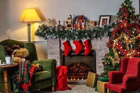 Decoracion Navidad En Color Rojo