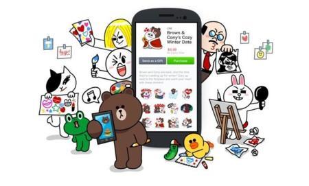 LINE democratiza sus stickers, ahora cualquier diseñador puede apostar por ellas