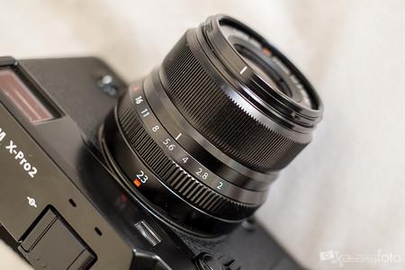 Fujinon XF 23 mm f2 R WR, análisis: un pequeño, asequible e indispensable objetivo de la Serie X
