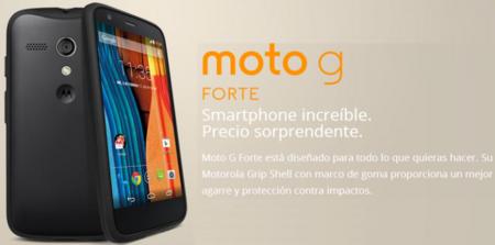 Motorola Moto G Forte es un pack, no un teléfono nuevo