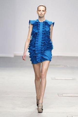 Amaya Arzuaga en la Semana de la Moda de París Otoño-Invierno 2011/2012