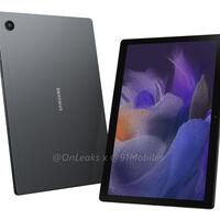 La Samsung Galaxy Tab A8 2021 se filtra casi al completo: diseño renovado y cuatro altavoces con Dolby Atmos