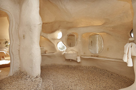 La casa de los Picapiedra - baño