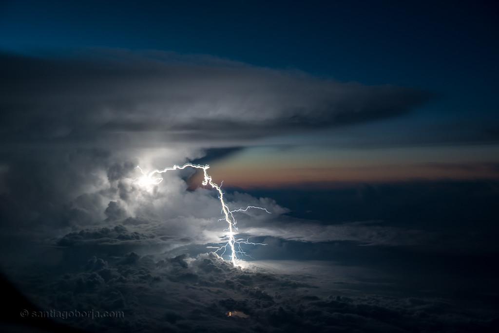 Santiago Borja Fotos Tormentas Desde Avion 4