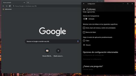 Google actualiza Chrome Canary: se pulen los fallos en el Modo Oscuro preparando su llegada a Chrome Beta