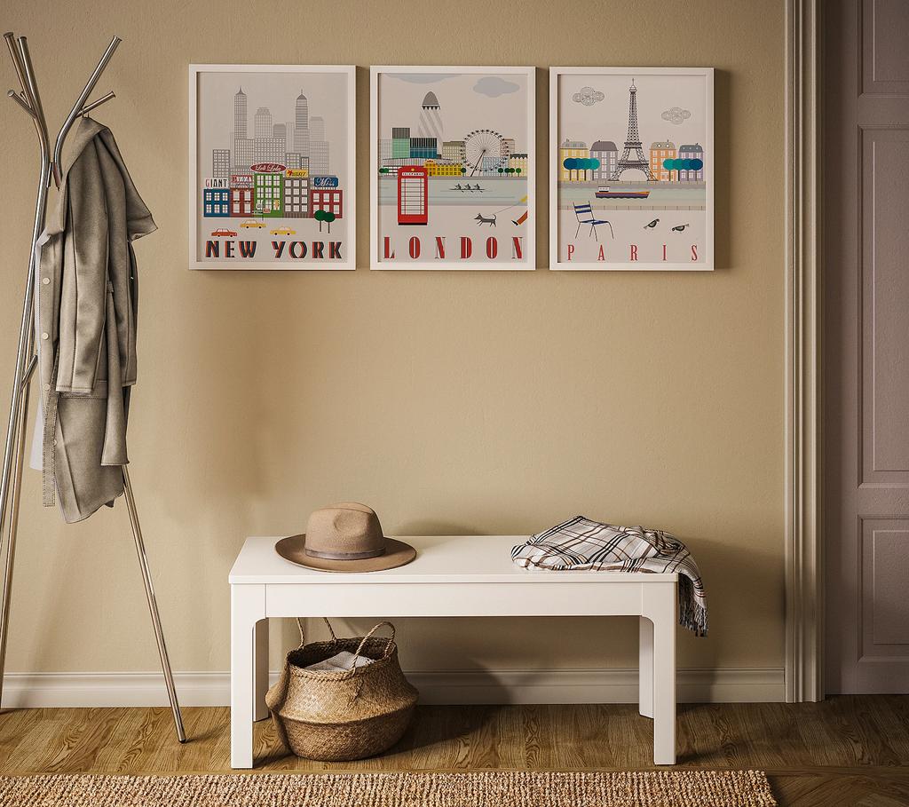 Tus paredes están pidiendo a gratis que las redecores: 11 láminas de Ikea para darles vida