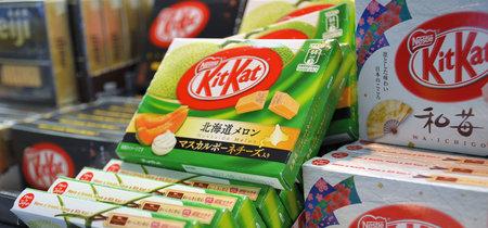 Japón, el rey de los sabores más raros de KitKat
