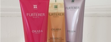 Probamos la linea Okara de René Furterer, por si estás buscando un champú para tu color de pelo