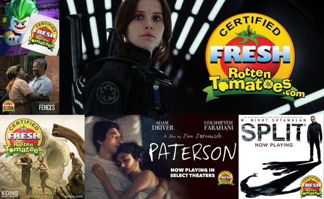 Películas reciente con el sello de Rotten Tomatoes