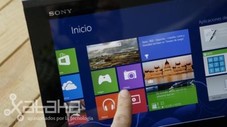 Sony Vaio Duo 11 análisis pantalla panel IPS