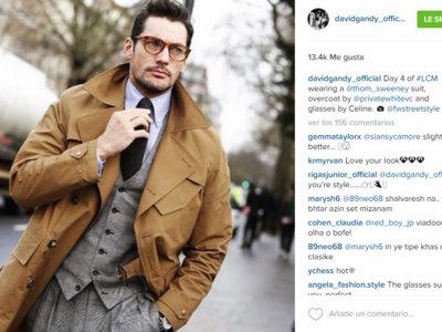 Todos los looks que ha llevado David Gandy en la Semana de la Moda de Londres