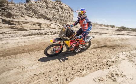 Toby Price vence la décimo primera etapa del Dakar 2018; Matthias Walkner gestiona su ventaja