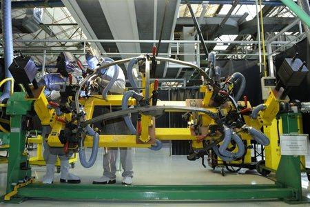 Fabrica Renault Twizy Valladolid soldadura