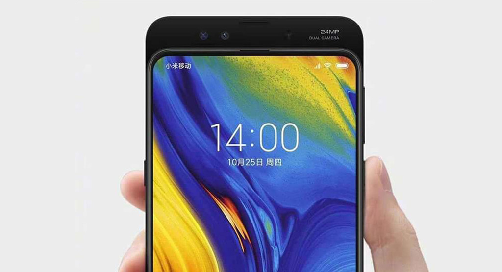 Xiaomi Mi MIX 3: slide-up screen to carry the screen to the maximum without notch