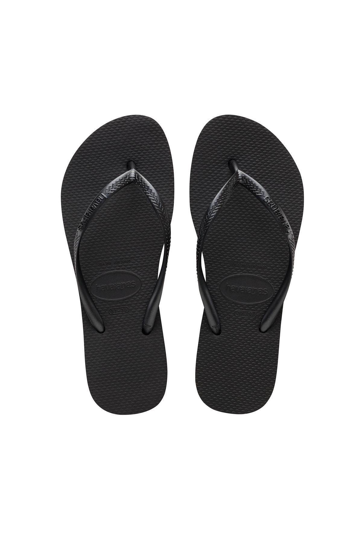 Chanclas negras flip-flop de Havaianas