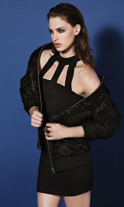 Vestido negro Catálogo Topshop fiesta