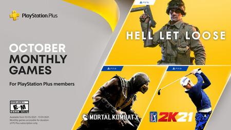 Mortal Kombat X y Hell Let Loose entre los juegos de PlayStation Plus de octubre de 2021