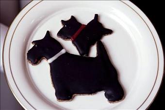 Galletas con forma de perro para recibir a los visitantes de la Casa Blanca