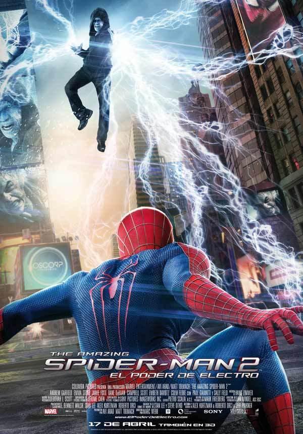 Foto de 'The Amazing Spider-Man 2: El poder de Electro', carteles (3/15)