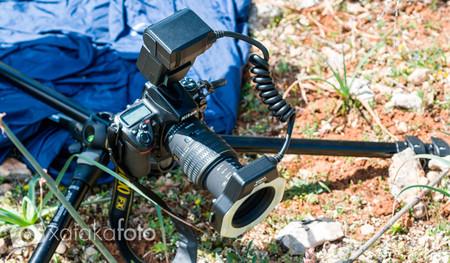 equipo para fotografia macro