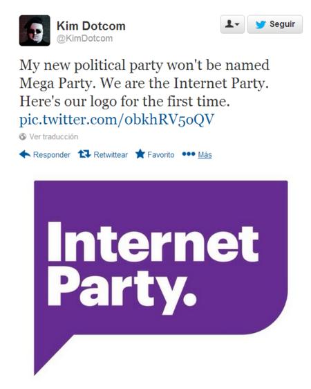 Kim Dotcom Internet Party