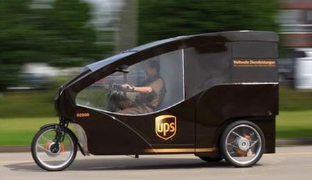 Triciclo eléctrico de UPS en Dormunt