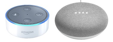 Google Home Mini vs Alexa Echo Dot: duelo en la gama de entrada de altavoces inteligentes