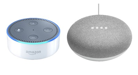 Google Home Mini vs Alexa Echo Dot  duelo en la gama de entrada de altavoces  inteligentes 3f1917e011e6