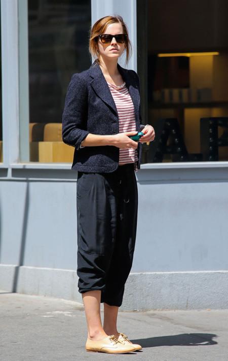 Emma Watson chaqueta universidad