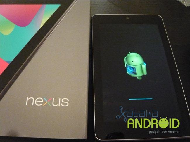 Bienvenida al Nexus 7