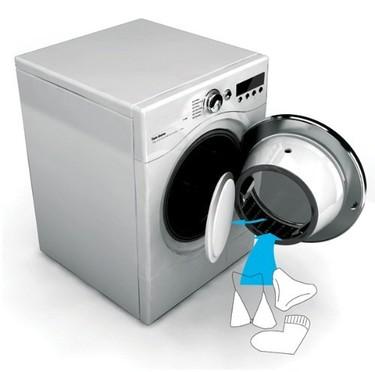 Lavadora de doble tambor para no separar la ropa