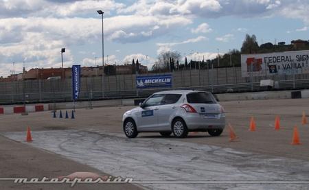 Michelin, Circuito del Jarama, Neumáticos nuevos y neumáticos desgastados a prueba 04