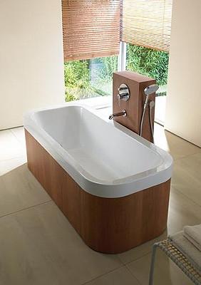 Solución para la grifería en las bañeras exentas