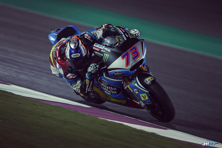 Alex Marquez Pretemporada 2017 Catar