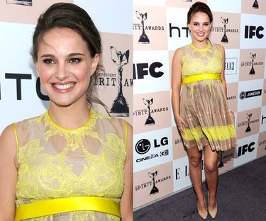 Y más looks de las invitadas a los Independent Spirit Awards 2011
