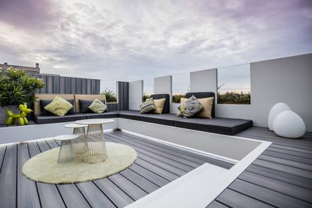 Espacios que inspiran: una espectacular terraza de ático con jacuzzi en la costa de Bélgica