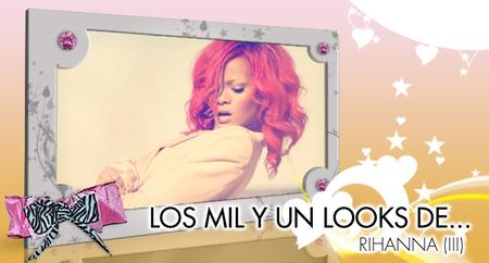 Los mil y un cambios de look de Rihanna (III): El despiporre absoluto