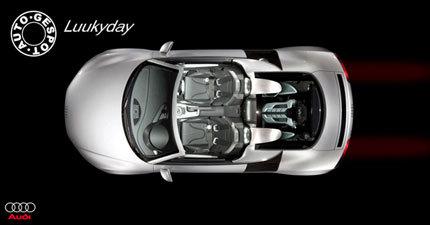 Audi R8 Spider, ¿real o ficción?