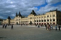 Almacenes GUM: lujo en la Plaza Roja de Moscú