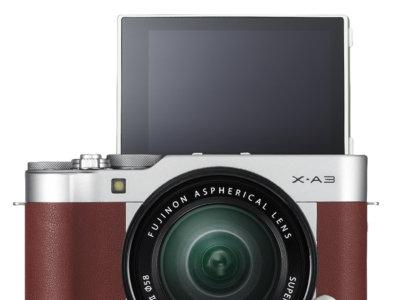 La Fujifilm X-A3 sigue apostando por el selfie y llega con LCD táctil y nuevo sensor de 24,2 Mp