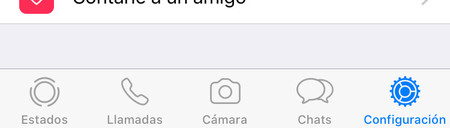 Whatsapp Iphone Configuracion