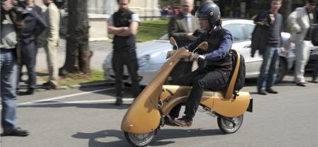 Moveo, otro scooter eléctrico plegable