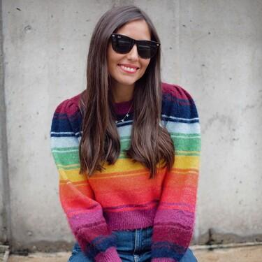 Cinco jerseys de rayas a todo color de rebajas en Asos para alegrar los días grises de invierno