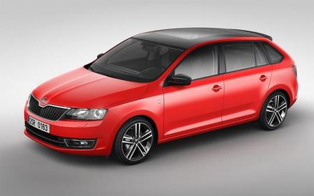 Škoda Rapid Spaceback, al descubierto